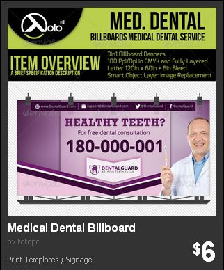 Medical Dental Billboard