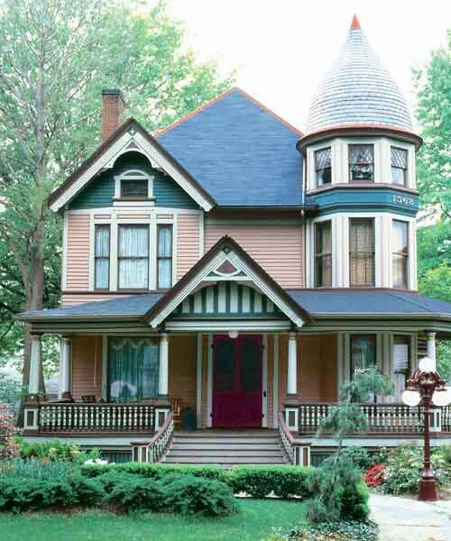 A Complete Tour Of A Victorian Style Mansion: 1000+ Ideas About Victorian Homes Exterior On Pinterest