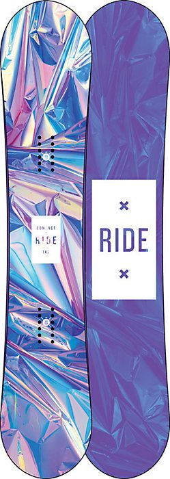 2017 Ride Compact Snowboard - Women's - Christy Sports