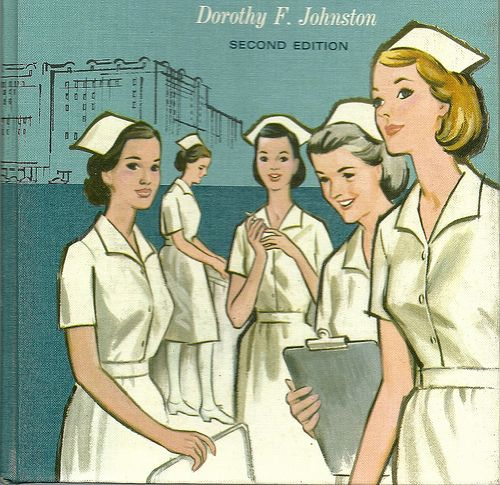 Vintage nurse - then I must be VINTAGE!! THis is what we ALL looked like in 1979!!
