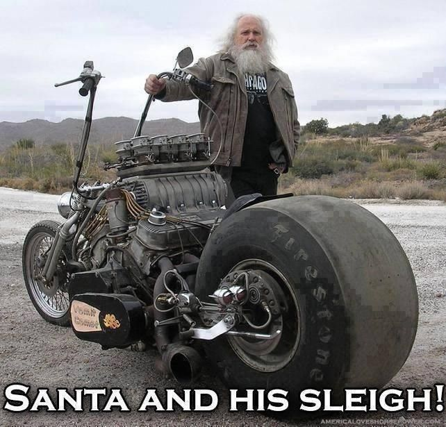 Santas bike!??