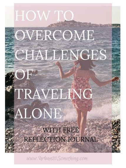 Do you long to travel but are worried about doing it alone? Or are you already traveling alone and want to make the most out of it? No matter what or why you're traveling alone, you're going to have an incredible opportunity to learn about the world and yourself. Make the most out of it! Click through to read my post with tips and get your free reflection journal.