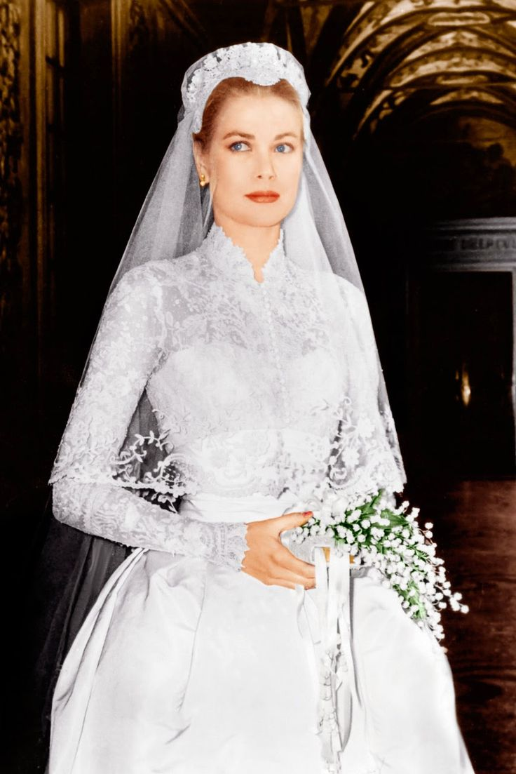 190 best princess grace wedding images on pinterest prince this is a timeless picture of grace kelly in her wedding dress in she was marrying the prince of monaco her wedding set the premise for many brides to be ombrellifo Gallery