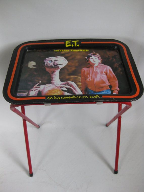 metal tv trays with stand 3