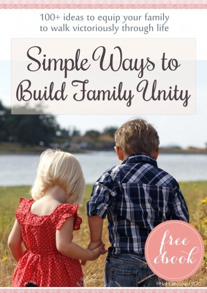 It's the little things that lead to the most amazing memories and those amazing memories become the glue that binds us together as a family. Need some ideas? I'm sharing a FREE ebook full of over 100+ simple ideas that will help your family grow closer together.