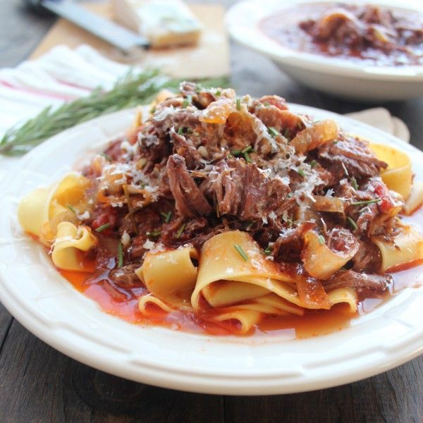 Crock Pot Beef Ragu Recipe