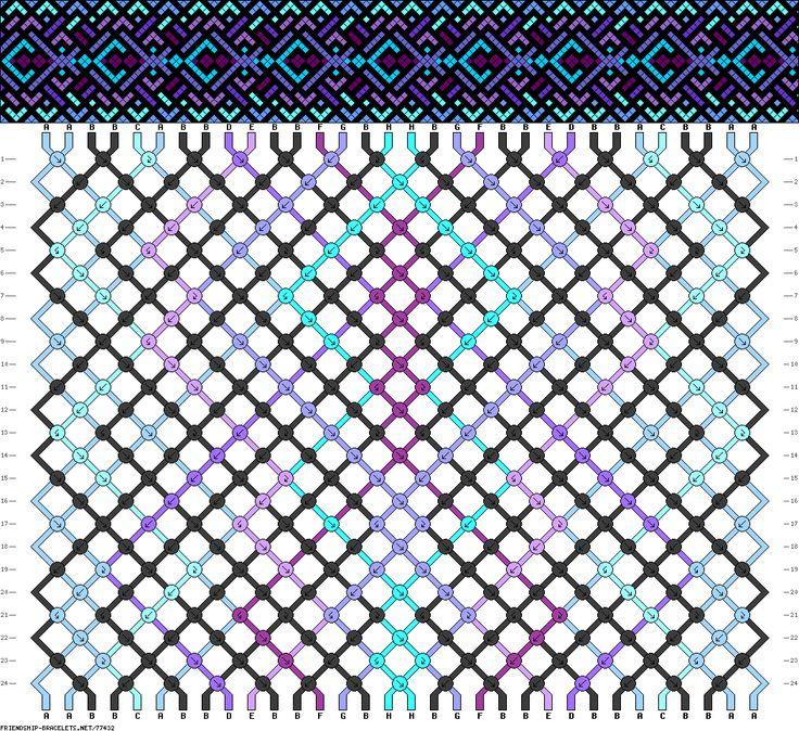 32 strings, 24 rows, 8 colors