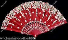 unique red lace fans - Google Search