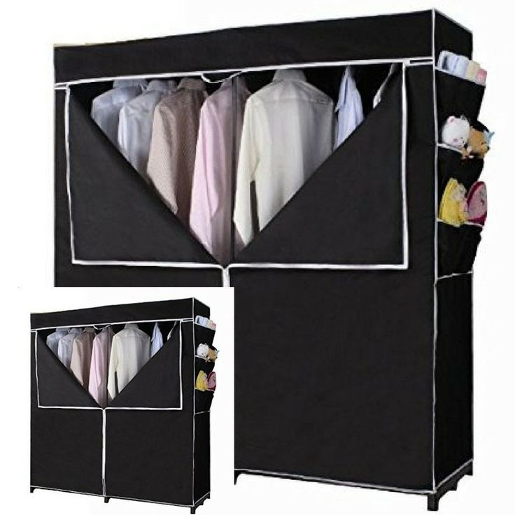 Portable Closet For Clothes Shelves Shoe Rack Wardrobe Bedroom Dressing Room #ATHHome