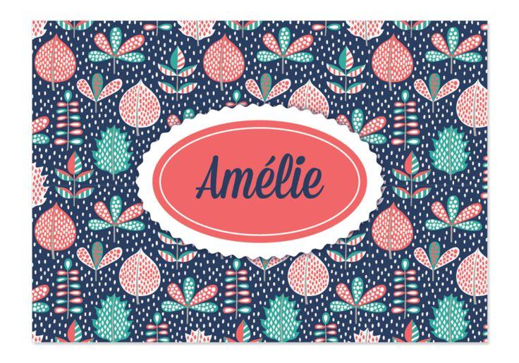 Geboortekaartje Amélie - Kaartjes en Co
