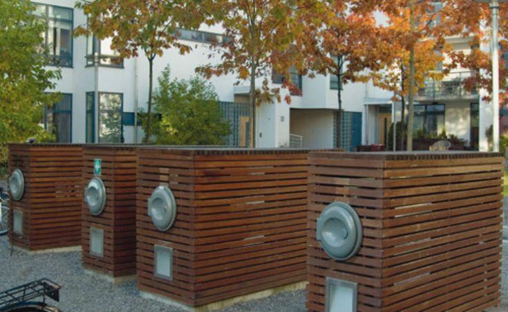 Distrito de Estocolmo utiliza tubos de sucção para reaproveitar resíduos