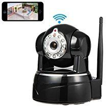 Wireless Security Camera, Smart Home Security IP Camera, Sokos 1280x720p Home Surveillance Wireless IP Camera With Microphone Pan/Tilt with 2-Way Audio, Baby Video Monitor Nanny Cam with Motion Detection