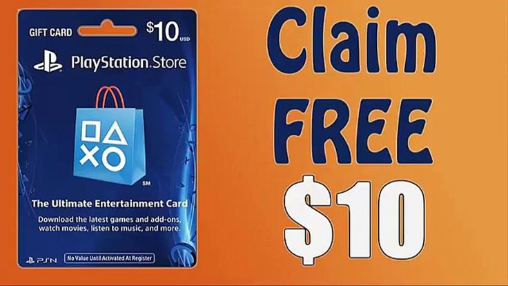 How to get playstation gift card valid codes 10 2020