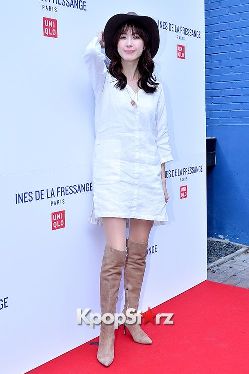 Kang Ye Won and Hong Eun Hee at UNIQLO 'Ines De La Fressange' 2015 S/S Collaboration - Feb 26, 2015 [PHOTOS] : Photos : KpopStarz