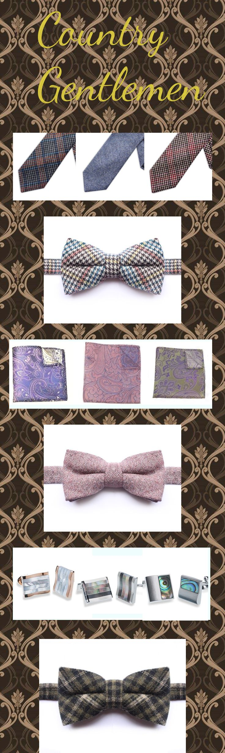 Take a look at our stunning, contemporary collection of silk ties, wool ties and matching pocket squares and cufflinks for a classic or contemporary wedding look.  Whether you are the groom, the best man or a VIP guest you will find your perfect accessory.  Read our blog with more ideas at  https://lilyhoustondesign.co.uk/blogs/news/gifts-for-your-men  Love, Lily x