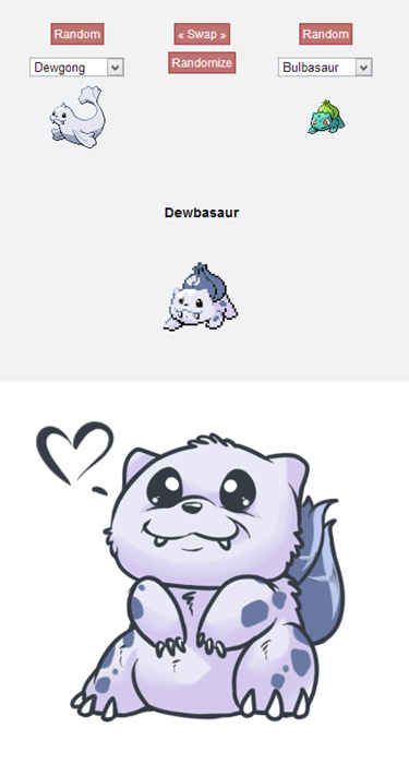 Dewbasaur | 43 Pokemon Mash-Ups That Are Better Than The Real Thing