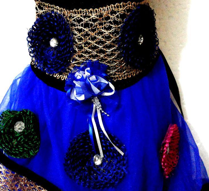 Blue fairy tale baby dress for your little angel. #babydresschandigarh  #babyclotheschandigarh