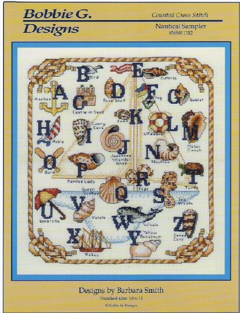 leather coat outlet Cross stitch Nautical ABC | Embroidery |  | Cross Stitches, Nautical and Stitches