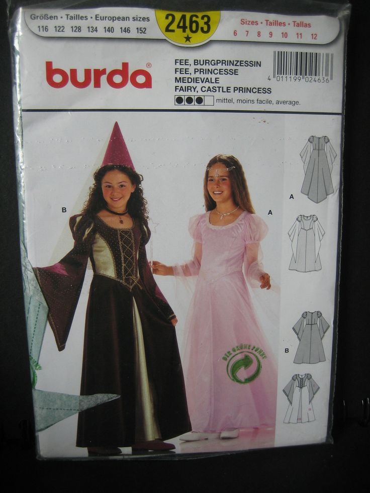 96 best Costume Sewing Patterns images on Pinterest   Kostümmuster ...