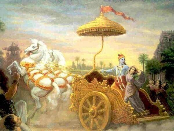Krishna & Rukmini