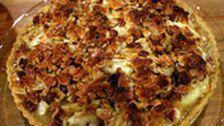 Äppelpaj med toscatäcke | SVT recept