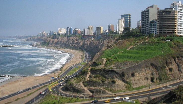 La costa Verde - Lima