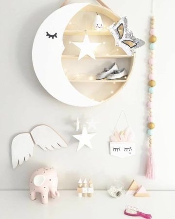 Moon Shelf Kit | DIY Instructions available on blog | bear and sparrow