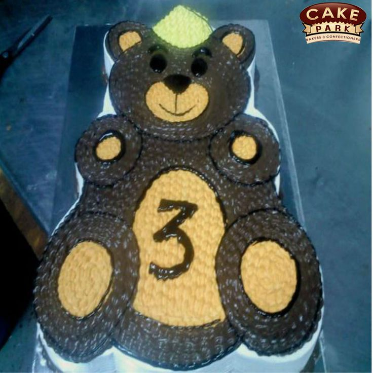 #Teddybear photo cake for your kids birthday. . Kids will go crazy for cute delicious #birthdaycake. Searching for photo cakes in #Chennai and #Bangalore Call us: 044-45535532 Visit us: www.cakepark.net