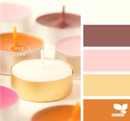 Fall Inspired Color Palettes - wax hues