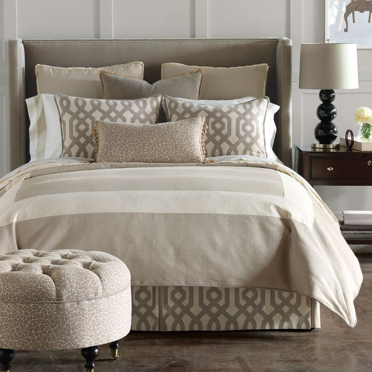 Master bedding. love.
