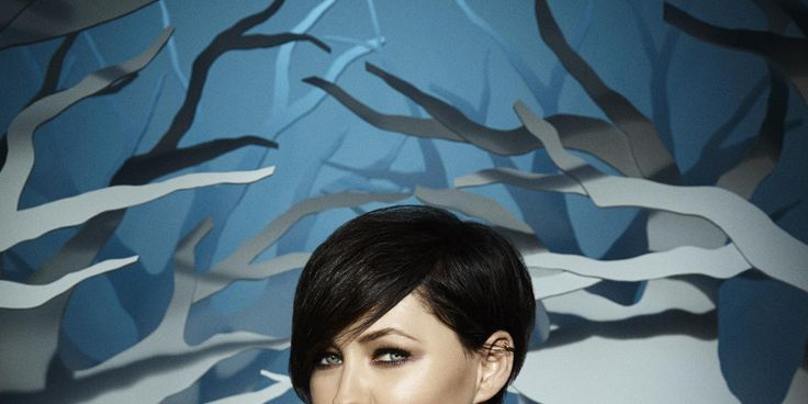 Emma Willis compares the new series's theme to the movie Maleficent.