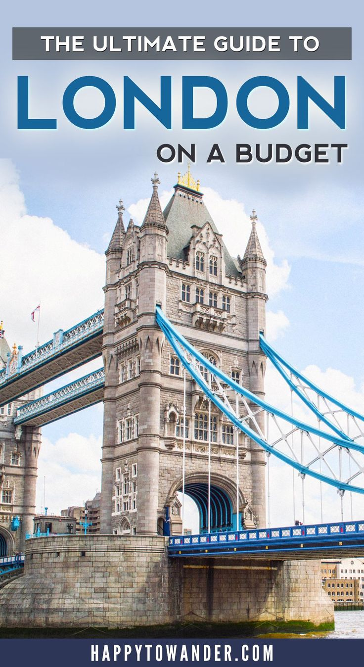 The best tips ever for travelling London on a budget! Here's how to find cheap activities, places to eat and more in one of the world's most expensive cities. A must-pin for anyone planning a London trip soon!