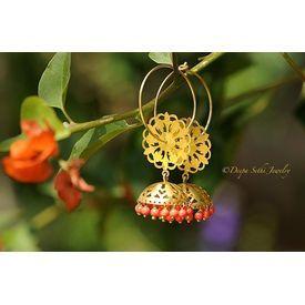 Buy Jhumka Bali online - JaipurMahal ethnic online store |Rajasthan jewellery |Handicraft | gift shop | Handmade products| Wedding gift online | Jaipur online for India |Rajasthani Jewellery, Crafts