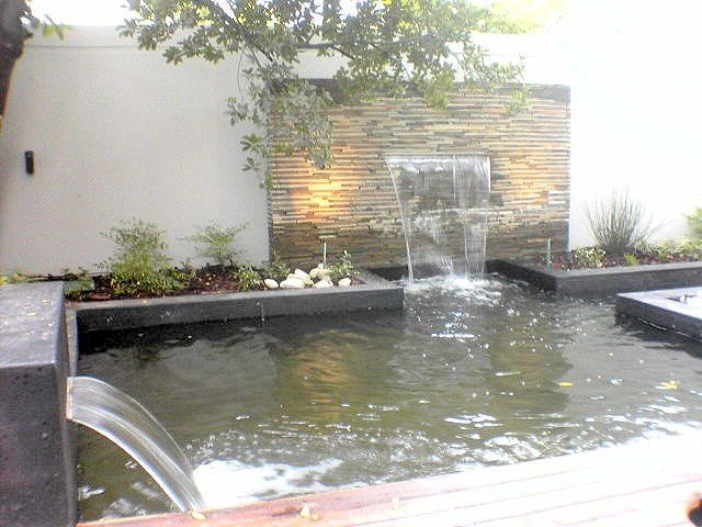 27 best water features cape town images on pinterest for Concrete pond design