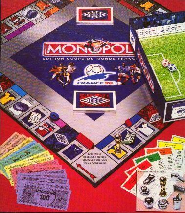 Monopoly Coupe du Monde 98