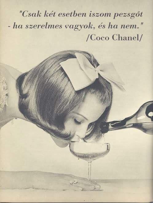 Coco Chanel #idézet   A kép forrása: Királynőképző