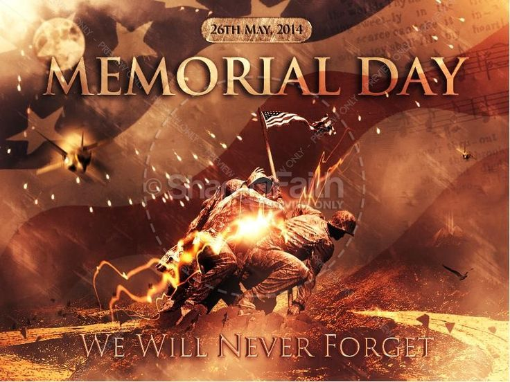 when is the memorial day 2013
