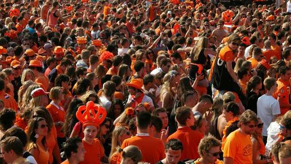 King's Day in Amsterdam- 27th April 2015