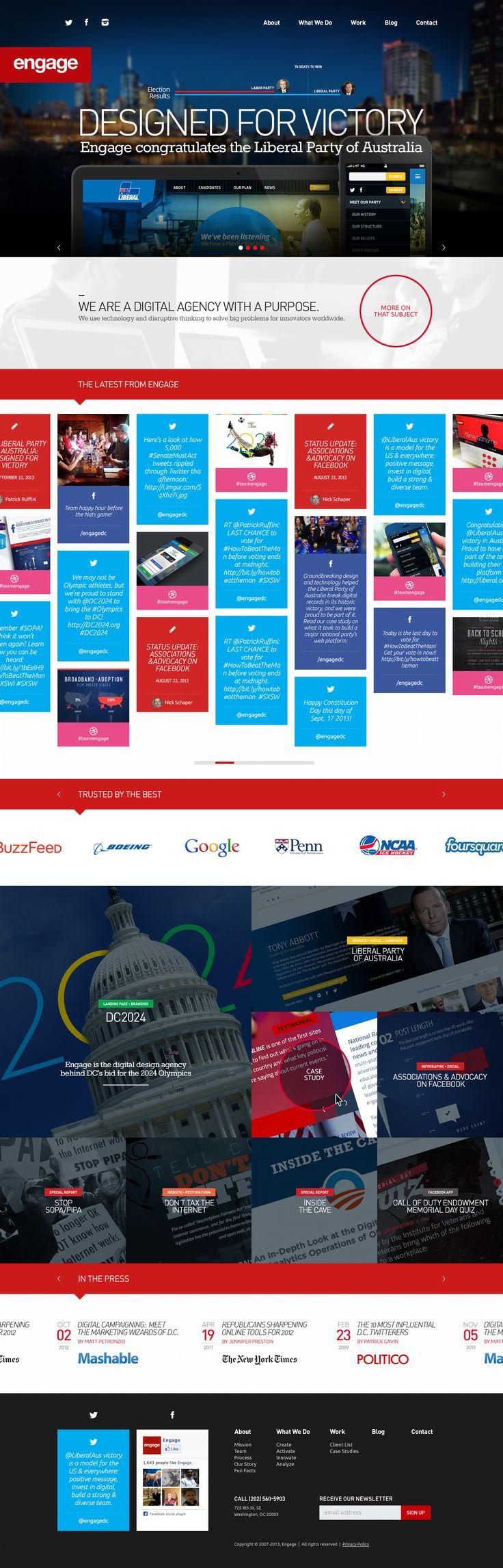 Engage #Webdesign