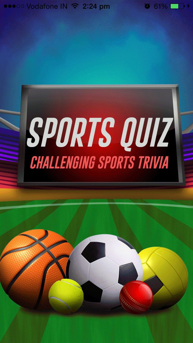Sports Quiz - Challenging Sports Trivia for all.   Everybody loves sports and sports people. Definitely all of you have an immense craze on a particular sport item.