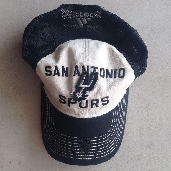 SALE San Antonio Spurs Adidas trucker cap San Antonio Spurs Adidas trucker cap, never worn. NWT Adidas Accessories Hats