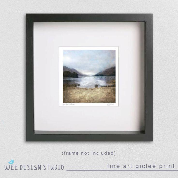 Excited to share the latest addition to my #etsy shop: Signed SCOTTISH Fine Art Print - Loch Shiel, Glenfinnan, Scotland (FREE UK p&p)  http://etsy.me/2DJI8WX   #art #print #giclee #weedesignstudio #scotland #scottish #wallart #glenfinnan #23cm