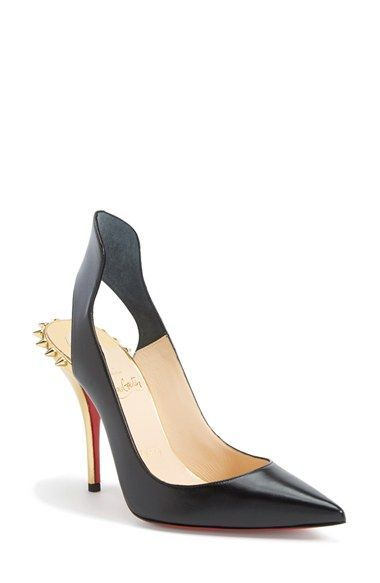 Christian Louboutin 'Survivita' Flared Pointy Toe Pump available at #Nordstrom