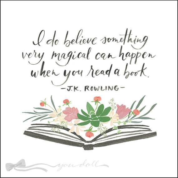 45 Of The Best Aww-Inspiring Quotes About Books | BookRiot.com | Rowling  quotes, Quotes from childrens books, Reading quotes kids