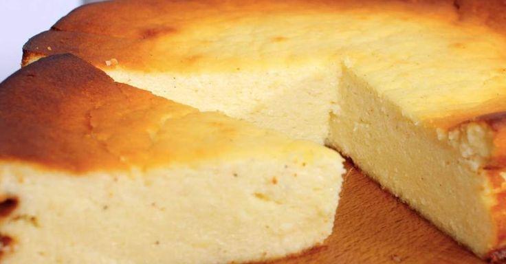 Käsekuchen ohne Boden (kalorienarm)