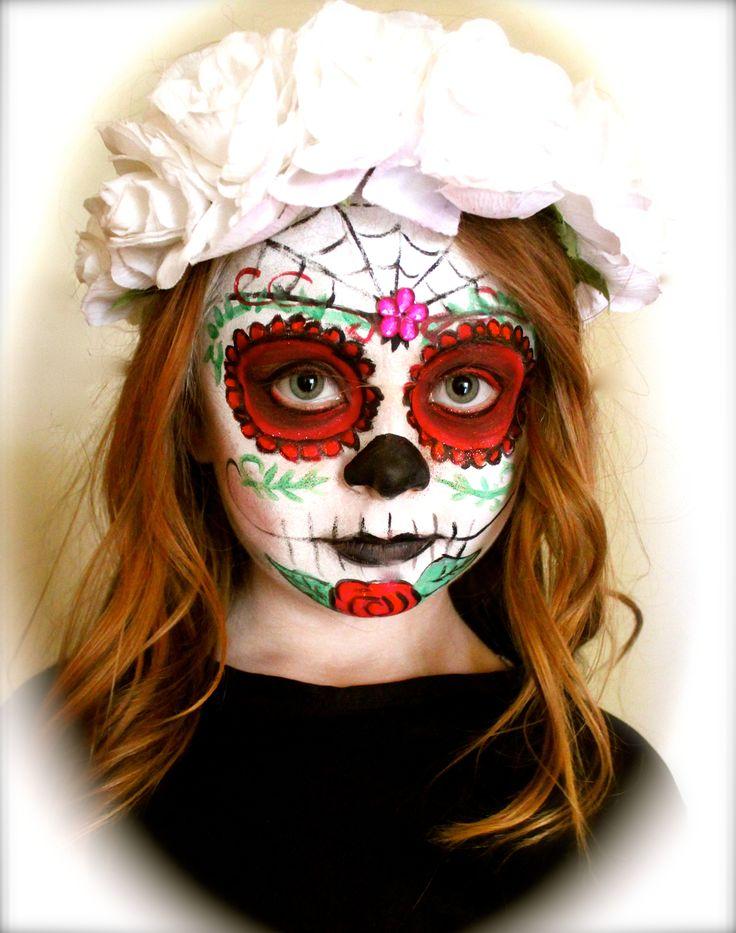 Halloween Sugar Skull CREATIVE Hair and Makeup Makeup Artist:  Michelle Butler