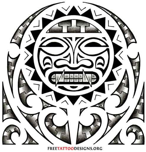 Aztec Tattoo Designs Were Used To Mark A Persons Status