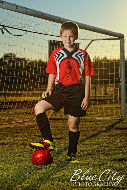 Soccer Portraits by Trask Smith (Blue City Photography), via Flickr