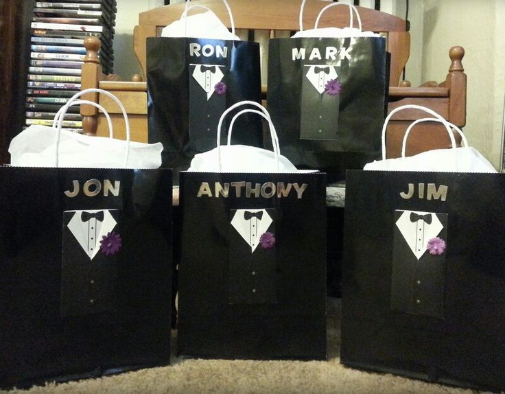 the 25 best groomsmen gift bags ideas on groomsmen
