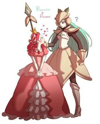 Princess and pistachio #cookierun
